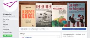 Facebook-Seite des Kriegsenkel e. V.